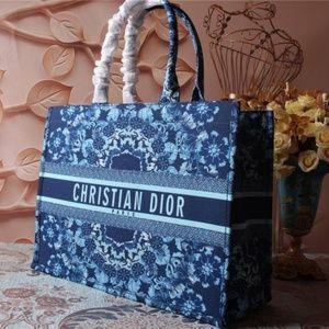 Dior canvas tote